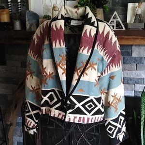 Flashback Boho Tribal Hippie Coat Jacket